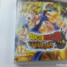 Videojogos e Consolas: DRAGON BALL Z- ULTIMATE TENKAICHI-BANDAI-PLAYSTATION 3 -CON INSTRUCCIONES-N. Lote 132547142