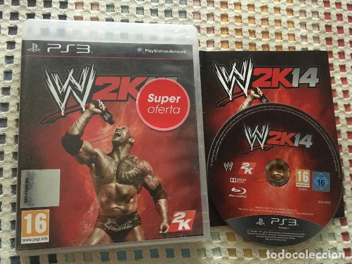 Usado, W2K14 WWE 2K 14 LUCHA LIBRE WRESTLING ps3 play station 3 playstation 3 kreaten segunda mano
