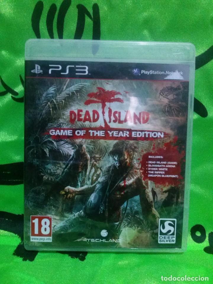 JUEGO PLAYSTATION 3 *DEAD ISLAND* .... COMPLETO - EXCELENTE ESTADO. (Juguetes - Videojuegos y Consolas - Sony - PS3)