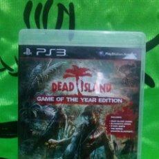 Videojuegos y Consolas: JUEGO PLAYSTATION 3 *DEAD ISLAND* .... COMPLETO - EXCELENTE ESTADO. . Lote 133176730