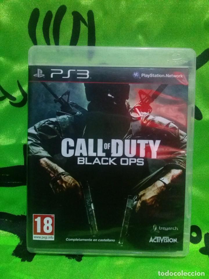 JUEGO PLAYSTATION 3 *CALL OF DUTY - BLACK OPS* COMPLETO - EXCELENTE ESTADO. (Juguetes - Videojuegos y Consolas - Sony - PS3)