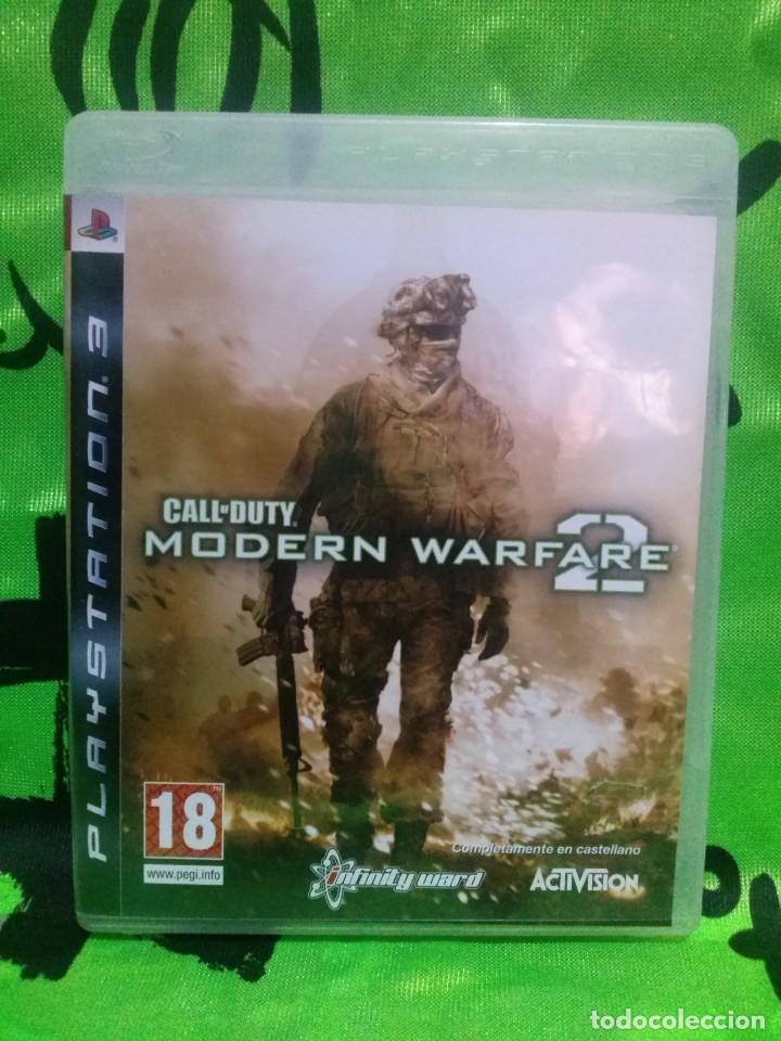 CALL OF DUTY MODERN WARFARE 2 - PS3 ..... COMPLETO Y EN EXCELENTE ESTADO. (Juguetes - Videojuegos y Consolas - Sony - PS3)