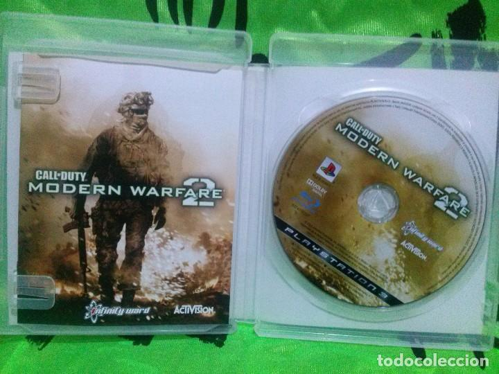 Videojuegos y Consolas: CALL OF DUTY MODERN WARFARE 2 - PS3 ..... Completo y en excelente estado. - Foto 2 - 133176778