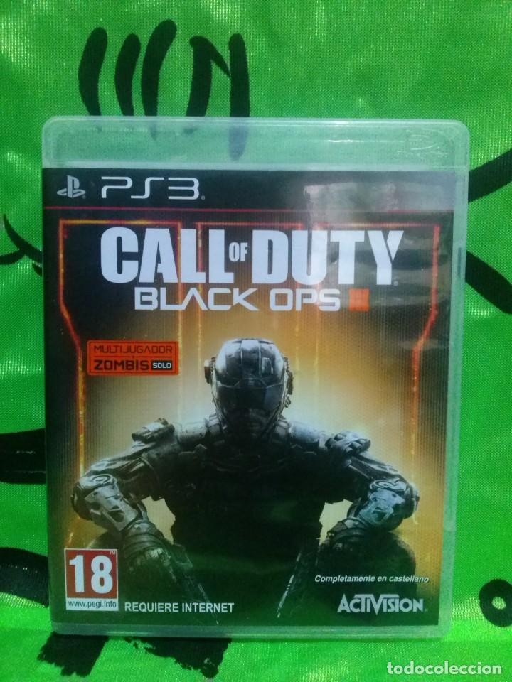 CALL OF DUTY *BLACK OPS III* PLAYSTATION 3 - SIN INSTRUCCIONES...RESTO EN PERFECTO ESTADO. (Juguetes - Videojuegos y Consolas - Sony - PS3)