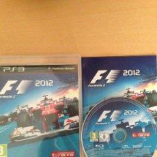 Videojuegos y Consolas: JUEGO PLAY 3 F1 2012. Lote 133715550