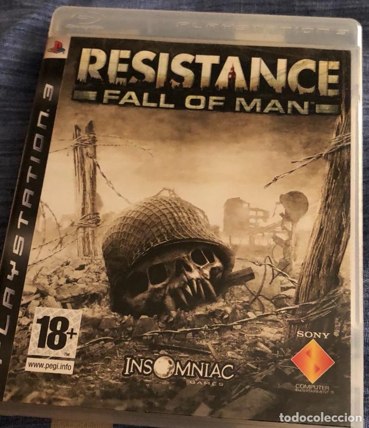 JUEGO DE PLAY 3 RESISTANCE FALL ON MAN (Juguetes - Videojuegos y Consolas - Sony - PS3)