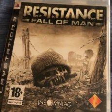 Videojuegos y Consolas: JUEGO DE PLAY 3 RESISTANCE FALL ON MAN. Lote 134397610
