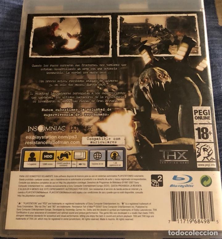 Videojuegos y Consolas: Juego de play 3 RESISTANCE FALL ON MAN - Foto 2 - 134397610