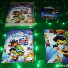 Videojuegos y Consolas: DISNEY UNIVERSE - PS3 - BLES 01354 - DISNEY - CON POSTER E INSTRUCCIONES - AJUSTATE EL DISFRAZ Y .... Lote 134907190