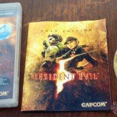 Videojuegos y Consolas: JUEGO PLAY 3 RESIDENT ECVIL GOLD EDITION. Lote 134985018