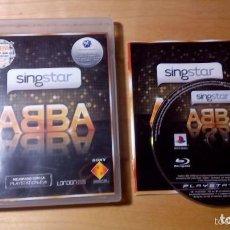 Videojuegos y Consolas: JUEGO PLAY 3 SINGSTAR ABBA. Lote 135072874