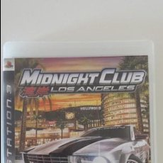 Videojuegos y Consolas: JUEGO PS3 - MIDNIGHT CLUB LOS ANGELES (ORIGINAL). Lote 135087406