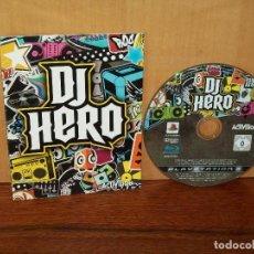 Videojuegos y Consolas: DJ HERO - PS3 SOLO CON MANUAL DE INSTRUCCIONES Y JUEGO . Lote 135223202