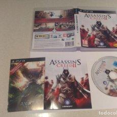 Videojuegos y Consolas: ASSASSINS CREED II 2 PS3 PLAYSTATION 3 PAL-ESPAÑA COMPLETO. Lote 145351170