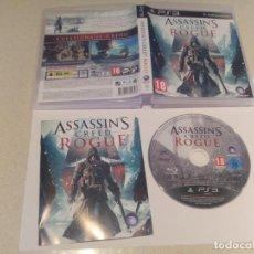 Videojuegos y Consolas: ASSASSINS CREED ROGUE PS3 PLAYSTATION 3 PAL-ESPAÑA COMPLETO. Lote 135237802