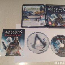 Videojuegos y Consolas: ASSASSINS CREED REVELATIONS PS3 PLAYSTATION 3 PAL-ESPAÑA COMPLETO. Lote 135237854