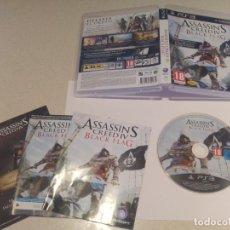 Videojuegos y Consolas: ASSASSINS CREED IV BLACK FLAG PS3 PLAYSTATION 3 PAL-ESPAÑA COMPLETO. Lote 135238118