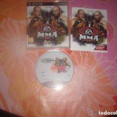 Videojuegos y Consolas: JUEGO PLAY 3 MMA. Lote 135282198