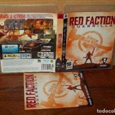 Videojuegos y Consolas: RED FACTION : GUERRILLA - PS3 CON MANUAL DE INSTRUCCIONES. Lote 135311894