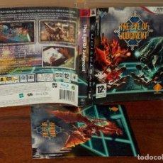Videojuegos y Consolas: THE EYE OF JUDGMENT - PS3 CON MANUAL DE INSTRUCCIONES . Lote 135337994