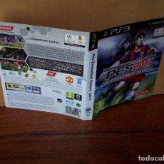 Videojuegos y Consolas: PS3 - PES 2011 PRO EVOLUTION SOCCER - SOLO CARATULA. Lote 135347098