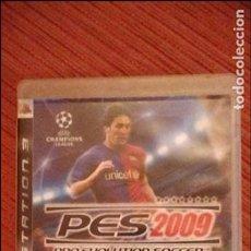 Videojuegos y Consolas: PES 2009. Lote 61577520