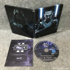 Jeux Vidéo et Consoles: STAR WARS II THE FORCE UNLEASHED STEELBOOK EDITION SONY PLAYSTATION 3. Lote 135634635