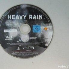 Videojuegos y Consolas: HEAVY RAIN - JUEGO PS3 - SIN CARÁTULA. Lote 135888906