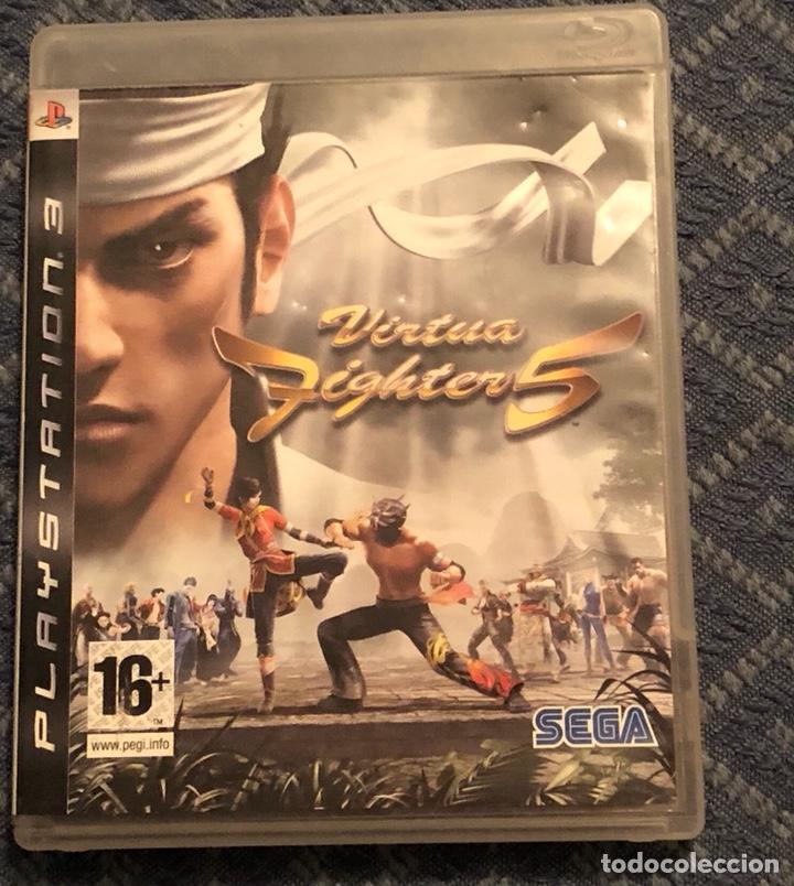 JUEGO DE PLAY 3 VIRTUA. FIGHTER 5 (Juguetes - Videojuegos y Consolas - Sony - PS3)