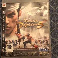 Videojuegos y Consolas: JUEGO DE PLAY 3 VIRTUA. FIGHTER 5. Lote 136064514