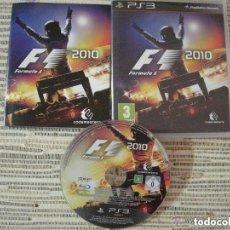 Videojuegos y Consolas: JUEGO PLAY 3 FORMULA 1 2010. Lote 136766730