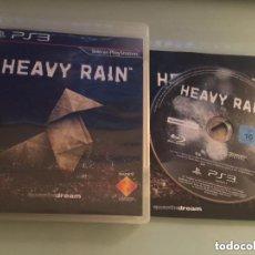 Videojuegos y Consolas: JUEGO PLAY 3 HEAVY RAIN. Lote 136766810