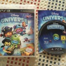 Videojuegos y Consolas: DISNEY UNIVERSE PS3 PLAYSTATION 3 PLAY STATION 3 KREATEN COMO NUEVO. Lote 137249458