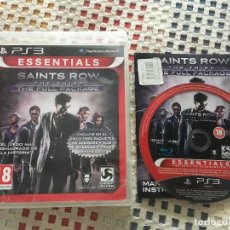 Videojuegos y Consolas: SAINTS ROW THE THIRD THE FULL PACKAGE ESSENTIALS PS3 PLAYSTATION 3 PLAY STATION 3 KREATEN. Lote 137392550