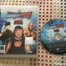 Videojuegos y Consolas: SMACK DOWN VS RAW 2008 FEATURING ECW SMACKDOWN PS3 PLAYSTATION 3 PLAY STATION 3 KREATEN. Lote 137393118