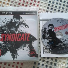 Videojuegos y Consolas: SYNDICATE PS3 PLAYSTATION 3 PLAY STATION 3 KREATEN. Lote 137393734