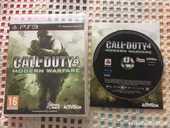 CALL OF DUTY MW1 MODERN WARFARE 1 PS3 PLAYSTATION 3 PLAY STATION 3 KREATEN