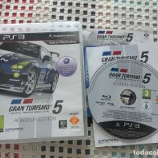 Videojuegos y Consolas: GRAN TURISMO 5 ACADEMY EDITION PS3 PLAYSTATION 3 PLAY STATION 3 KREATEN. Lote 137413138