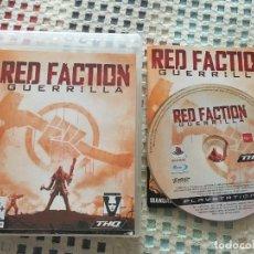 Videojuegos y Consolas: RED FACTION GUERRILLA PS3 PLAYSTATION 3 PLAY STATION 3 KREATEN. Lote 137413294