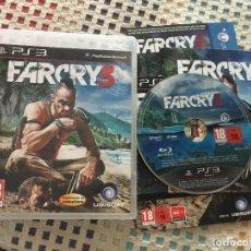Videojuegos y Consolas: FARCRY 3 FAR CRY III PS3 PLAYSTATION 3 PLAY STATION 3 KREATEN. Lote 137413466