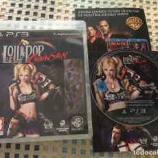 Videojuegos y Consolas: LOLLIPOP CHAINSAW CHAIN SAW PS3 PLAYSTATION 3 PLAY STATION 3 KREATEN. Lote 137421666