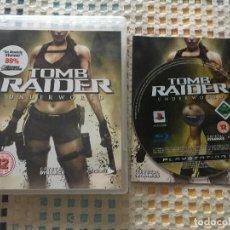 Videojuegos y Consolas: TOMB RAIDER UNDERWORLD PS3 PLAYSTATION 3 PLAY STATION 3 KREATEN. Lote 137427722