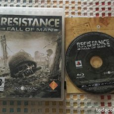 Videojuegos y Consolas: RESISTANCE FALL OF MAN PS3 PLAYSTATION 3 PLAY STATION 3 KREATEN. Lote 137428534
