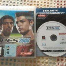 Videojuegos y Consolas: PES 2008 PRO EVOLUTION SOCCER 8 08 PS3 PLAYSTATION 3 PLAY STATION 3 KREATEN. Lote 137428742