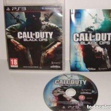 Videojuegos y Consolas: JUEGO PLAY 3 CALL OF DUTY BLACK OPS. Lote 137469706