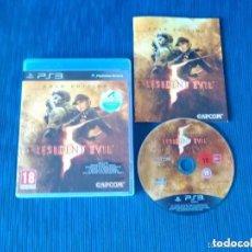 Videojuegos y Consolas: JUEGO PLAY 3 RESIDENT ECVIL GOLD EDITION. Lote 139250222