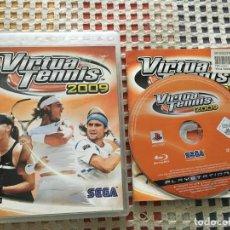 Videojuegos y Consolas: VIRTUA TENNIS 2009 SEGA TENIS PS3 PLAYSTATION 3 PLAY STATION KREATEN SONY. Lote 139562418
