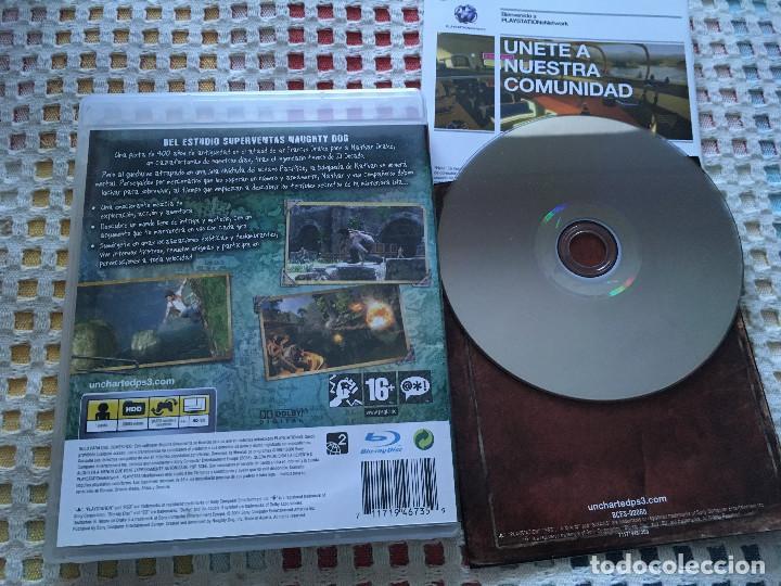 Videojuegos y Consolas: UNCHARTED 1 EL TESORO DE DRAKE PS3 PLAYSTATION 3 PLAY STATION KREATEN SONY - Foto 2 - 139585010