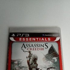 Videojuegos y Consolas: ASSASSINS CREED 3, PS3, PLAYSTATION. PRECINTADO, A ESTRENAR.. Lote 139633250