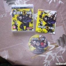 Videojuegos y Consolas: JUEGO PLAY 3 NEVER DEAD. Lote 139813406